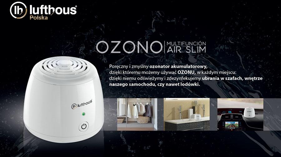 Przenośny ozonator Lufthous AirSlim