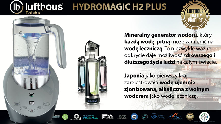 HYDROMAGIC H2 PLUS